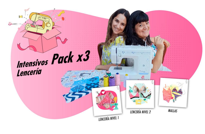 Baúl de Moda - Pack x3 Lenceria