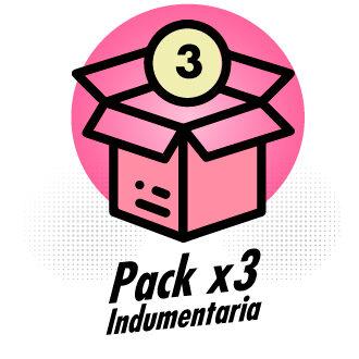 Baul de moda - Pack x3 Lenceria