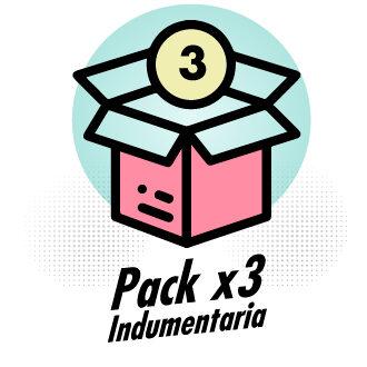 Baul de moda - Pack x3 Indumentaria