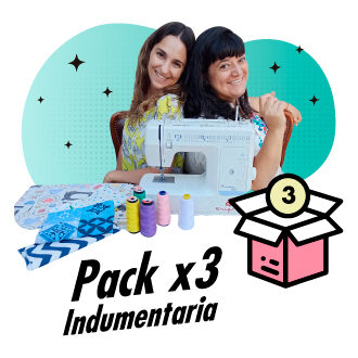 Pack x3 Indumentaria